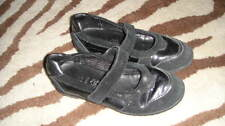 GEOX GIRLS 32 BLACK SHOES US 1