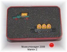"""Märklin Spur Z Museumswagen 2006 """"Kaiser mit Metall-LKW #NEU in OVP#"""