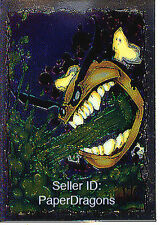 EVIL ERNIE Series 1 - Chromium Chase Card #3 - SMILEY