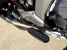"""BMW K1600GTL K1600GT Motorcycle Driver Sportboard Floorboard 1 3/4"""" Lower BLK"""