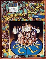1994-95 UCLA BRUINS WOMENS BASKETBALL MEDIA GUIDE