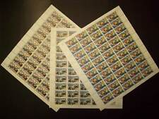 Mexico Scott C354 to C356 Full Sheets of 50 each Tourist Set Issued in 1969 |