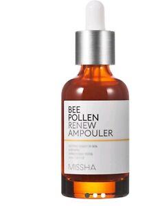 MISSHA Bee Pollen Renew Ampouler 40ml Whitening Moisturizing Anti-wrinkle