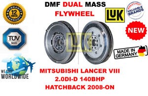 FOR MITSUBISHI LANCER VIII 2.0 DI-D 140BHP HB 08-ON NEW DUAL MASS DMF FLYWHEEL