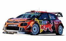 Model Car Scale 1:18 Norev Citroen C3 WRC Rally 2019 diecast Rallye Mode