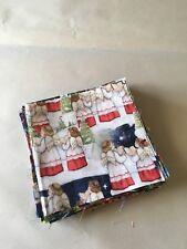 Fabric Christmas 5 X 5 Charms 42 (B1-B2)