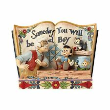 "Enesco E8 Disney Traditions Jim Shore 6"" Pinocchio Storybook Figurine 4057957"