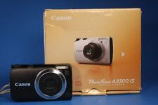 Canon PowerShot A3300 IS 16.0MP Digital Camera - Black FOR PARTS OR REPAIR