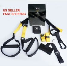 PRO3Suspension trainer straps Home Gym Fitness Resistance band training
