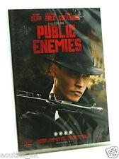 Public Enemies DVD REGION 2 NUOVO SIGILLATO JOHNNY DEPP CHRISTIAN BALE