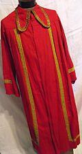 Vtg 20th Cent Theater Costume Mens Renaissance Fair Medievel Long Robe Sca Larp