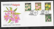 (FDC90013) MALAYSIA 1990 Wild Flowers of Malaysia First Day Cover FDC