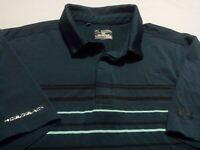 Under Armour Mens 2XL Short Sleeve Solid Green Athletic Polo Golf Shirt