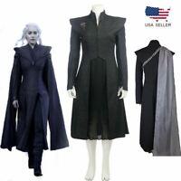 Game of Thrones Daenerys Targaryen Mother of Dragons Cosplay Costume Suit Dress