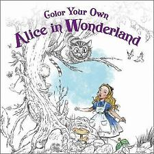 Color Your Own Alice in Wonderland