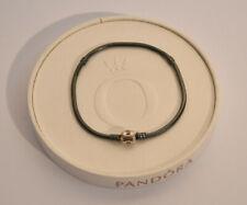 Pandora Oxidised Sterling Silver Chain Bracelet - 590702OX - 23cm