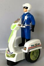 LIGHT & MUSIC BATTERY OPERATED BUMP & GO MOTOR SUPER POLICE TOY FOR KIDS OVER 3