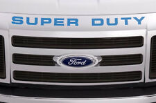 Super Duty Vinyl Inserts Grille Decals For Ford F250 F350 F450 2008-2016 BLUE