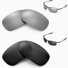 New Walleva Polarized Black + Titanium Lenses For Oakley Crosshair 2.0