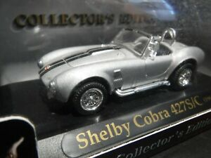 Road Signature 1/43 scale Shelby Cobra 427/C 1964 Silver and Black