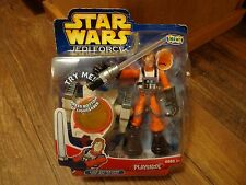 2004 HASBRO / PLAYSKOOL--STAR WARS JEDI FORCE--LUKE SKYWALKER FIGURE (NEW)