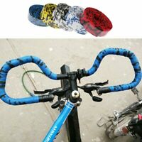 2× Antiskid Sponge Cycling Road Bike Bicycle Handle Belt Strap Bandage&Plugs