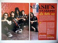 COUPURE DE PRESSE-CLIPPING :  SLASH'S SNAKEPIT [3pages] 11/2000 Slash,Ain't Life