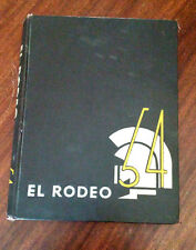 YEARBOOK El Rodeo University Of Southern California 1954 **LOOK**