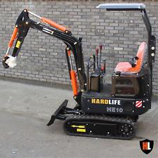 New HE10 Mini / Micro Digger Excavator - 1 Tonne