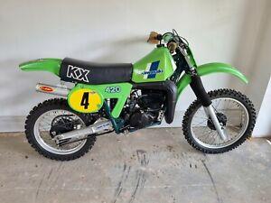 Kawasaki KX 420cc Kwacka mx motocross evo twinshock GLJ Racing
