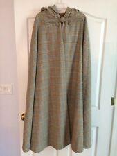 NEW Custom Long Wool Cape, OverSize Hood Theater Reenactor Fashion Costume  (C15