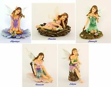 "Faerie Glen ""Woodland"" Series #2 Fairy Figurine Set of 5 Retired"
