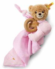 Schmusetuch Steiff Schlaf Gut Bär Rosa 240119 Kuscheltuch Babyschmusetuch Neu