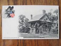 Vintage Postcard Old Penn Mansion Fairmount Park Philadelphia Pennsylvania