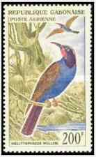 Timbre Oiseaux Gabon PA15 ** lot 15746