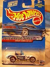 Hot Wheels Shelby Cobra 427 S/C Speed Blaster Series White