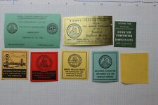 American Philatelic Society convention Aps Label ad 1953-1958 club joint shows