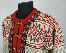 Vintage \u2022 Norlender Cardigan Sweater \u2022 Metal Clasp Front \u2022 Pure New Wool \u2022 Made in Norway