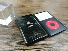 new black front faceplate metal back housing case for iPod 6th gen classic 80gb