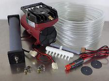 ACO-006 12V Transportbelüfter Sauerstoffpumpe Belüfter Teichbelüfter Kompressor