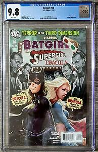 Batgirl #14 Artgerm Vintage Cover CGC 9.8 DC Comics 2010