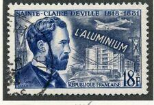 STAMP / TIMBRE DE FRANCE OBLITERE N° 1015 INVENTEUR // SAINTE CLAIRE DEVILLE