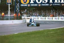 Johnny Herbert Benetton B195 Renault 1st Signed 12x8 photo Silverstone 1995