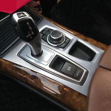 For BMW X5 E70 2010-2013 X6 E71 2010-2014Interior Car Gear Box Panel Cover Trim
