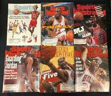 1987-94 MICHAEL JORDAN BASKETBALL SPORTS ILLUSTRATED MAGAZINE LOT #2 (6)