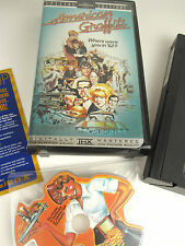 Special Ed. AMERICAN GRAFFITI VHS + RaRe Die Cut Shape CD MINT! 50's 60's Movie