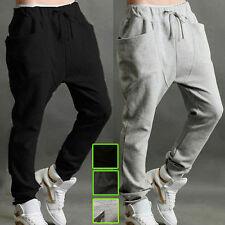Herren Damen Hosen Baggy Sporthose Fitness Hose Yoga Jogginghose Harem Trousers