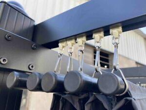 Replacement Railed Plastic Hooks Hangers Pergola Marquees for Pergola Cover