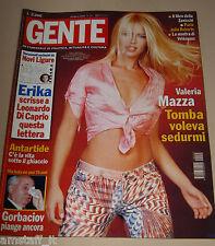 GENTE=2001/12=VALERIA MAZZA=ASIA ARGENTO=GIOVANNA MEZZOGIORNO=ALBERTO ROSSI=KNIE