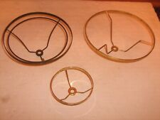 Vintage Lamp Parts, 3 Electric Shade Holders